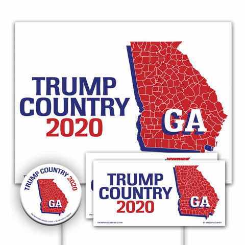 Georgia is Trump Country Yard Sign Kit