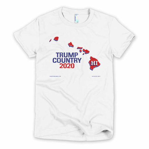 Hawaii is Trump Country Women's Slim Fit T-shirt