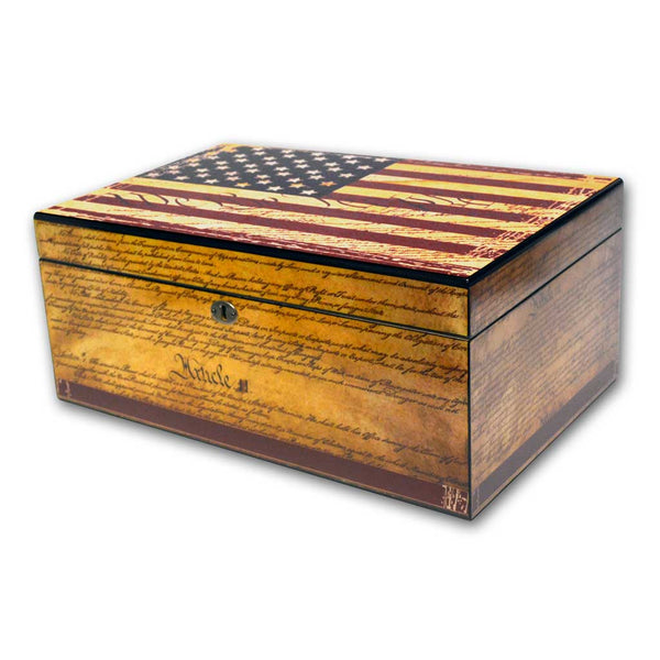 Constitution Cigar Humidor (personalization option)