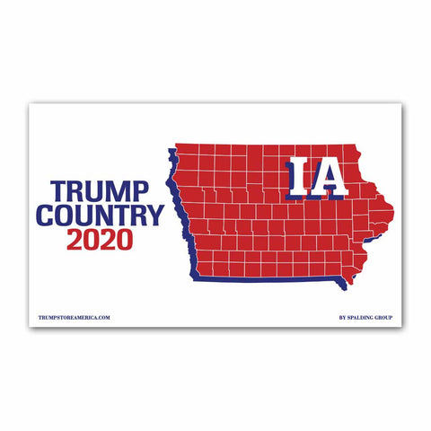 Iowa is Trump Country 2020 - Vinyl 5' x 3' Banner