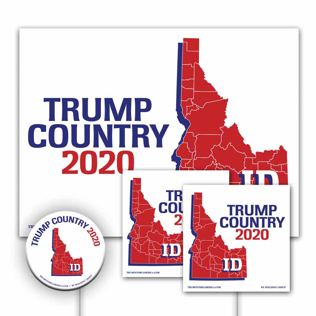 Idaho is Trump Country Yard Sign Kit