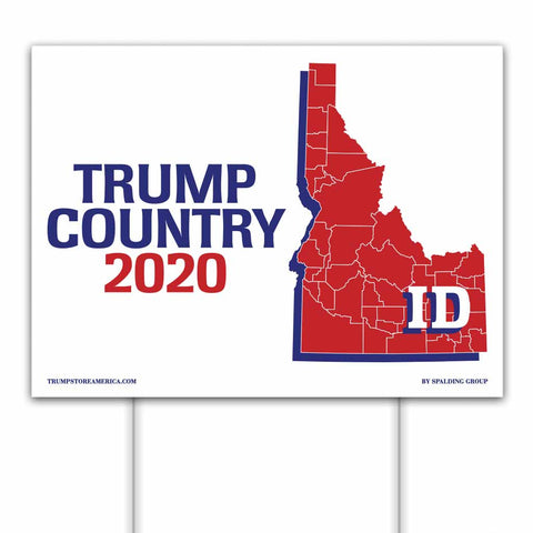 Idaho is Trump Country 2020 – Yard/Rally Sign