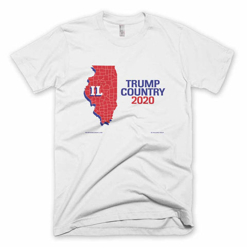 Illinois is Trump Country T-shirt