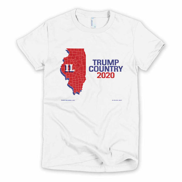 Illinois is Trump Country Women's Slim Fit T-shirt