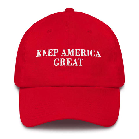 "Trump 2020 Hat - ""Keep America Great"" - Color Options"
