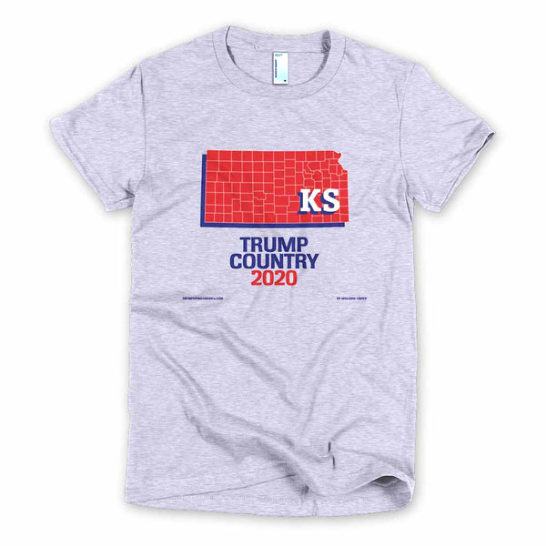 Kansas is Trump Country Women's Slim Fit T-shirt