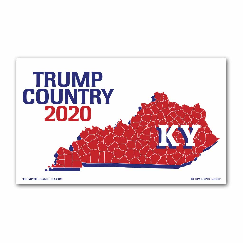 Kentucky is Trump Country 2020 - Vinyl 5' x 3' Banner