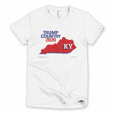 Kentucky is Trump Country Women's Slim Fit T-shirt