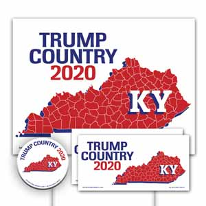 Kentucky is Trump Country Yard Sign Kit