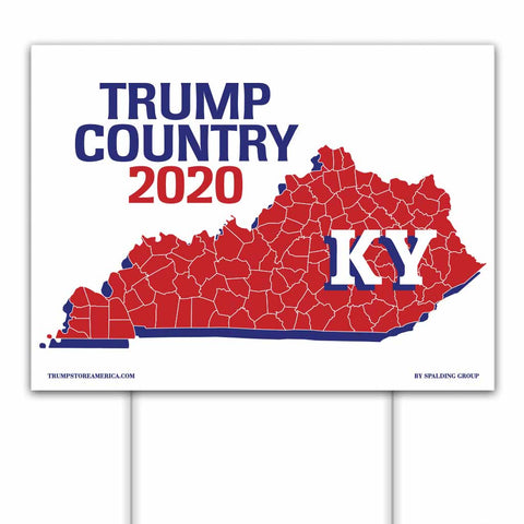 Kentucky is Trump Country 2020 – Yard/Rally Sign