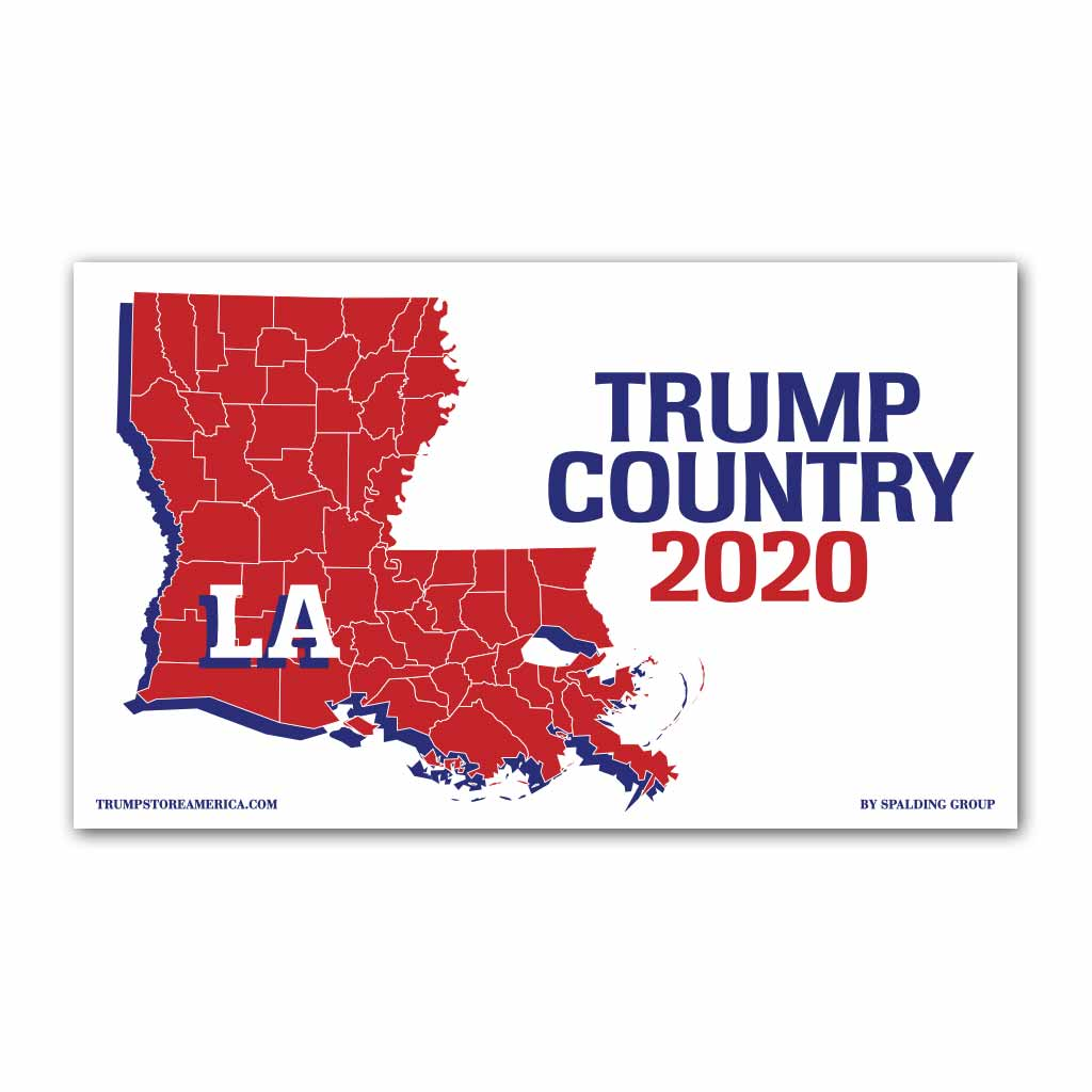 Louisiana is Trump Country 2020 - Vinyl 5' x 3' Banner