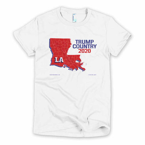 Louisiana is Trump Country Women's Slim Fit T-shirt