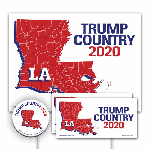 Louisiana is Trump Country Yard Sign Kit