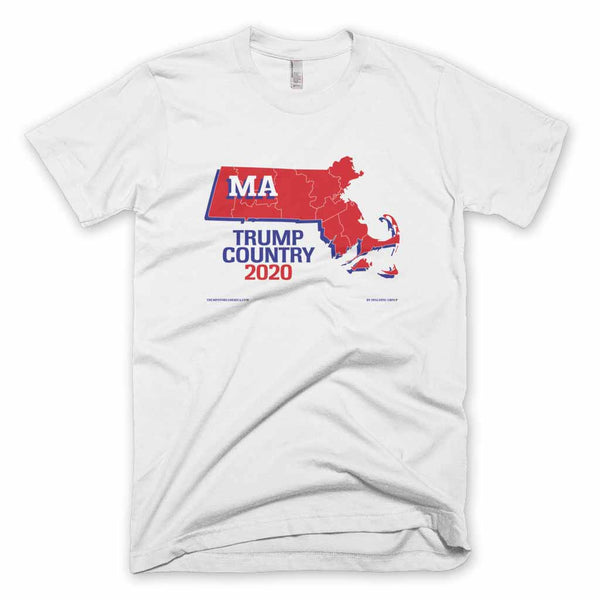 Massachusetts is Trump Country T-shirt