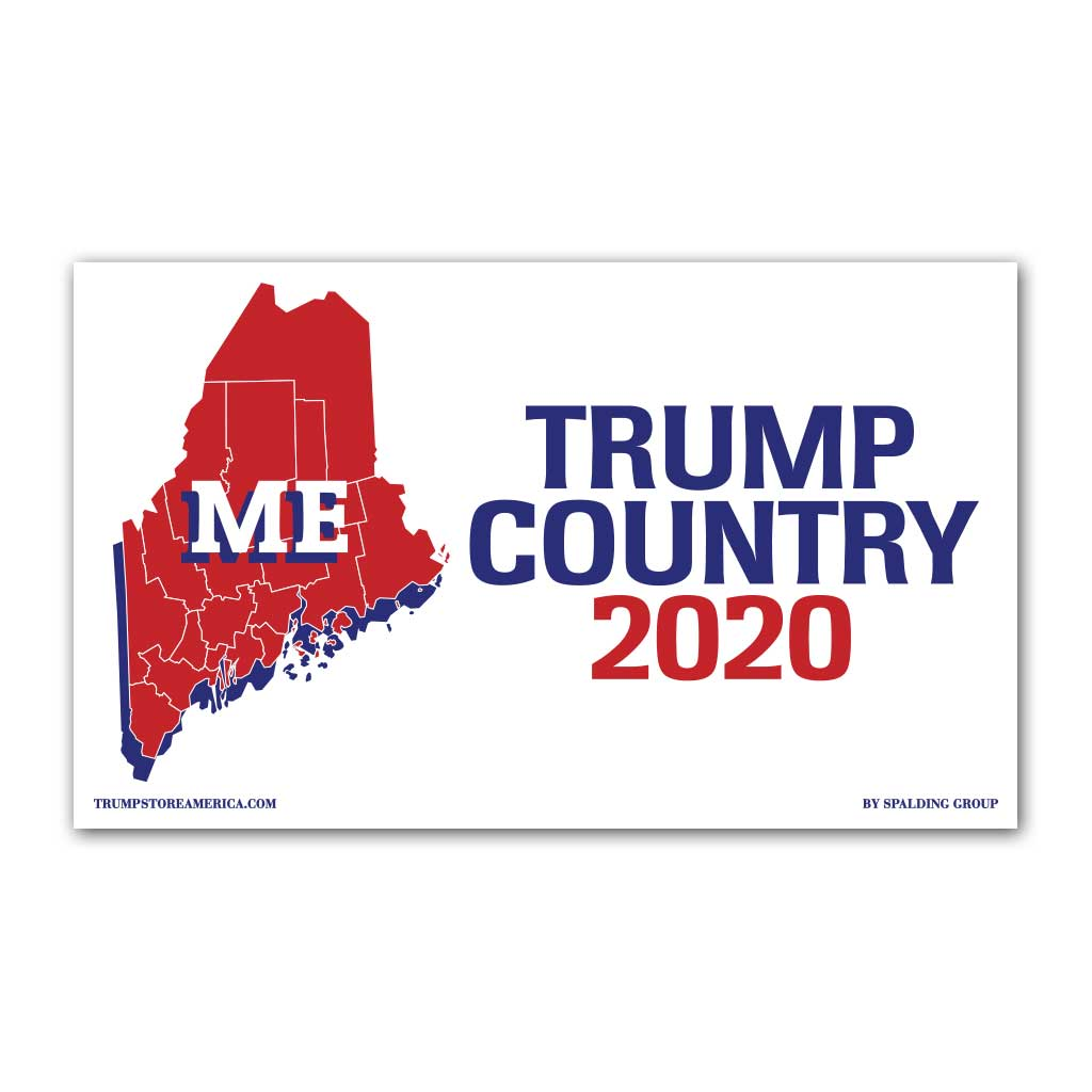Maine is Trump Country 2020 - Vinyl 5' x 3' Banner