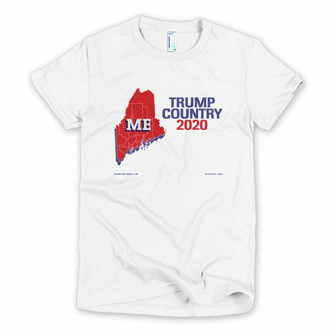 Maine is Trump Country Women's Slim Fit T-shirt