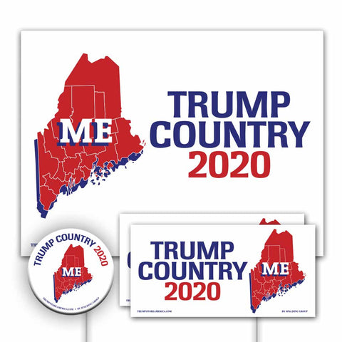 Maine is Trump Country Yard Sign Kit