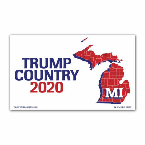Michigan is Trump Country 2020 - Vinyl 5' x 3' Banner