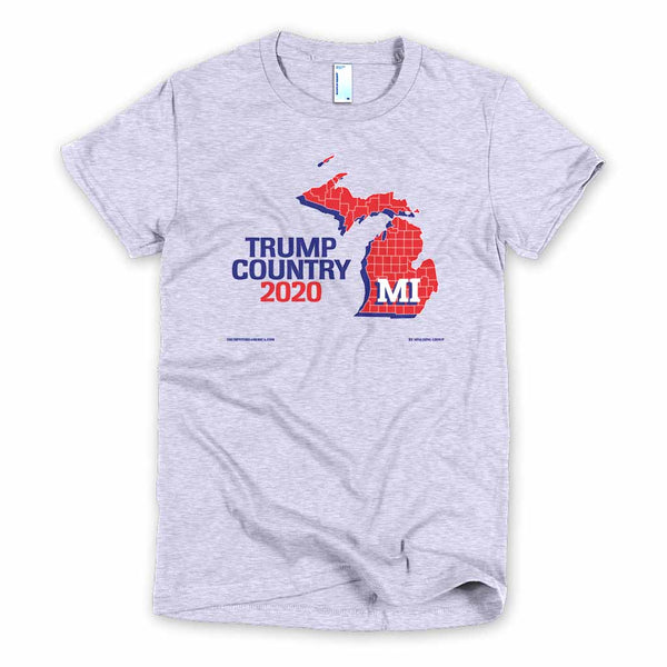 Michigan is Trump Country Women's Slim Fit T-shirt
