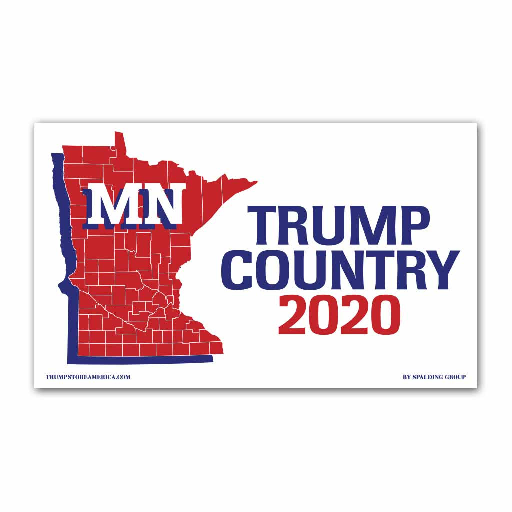Minnesota is Trump Country 2020 - Vinyl 5' x 3' Banner