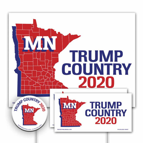 Minnesota is Trump Country Yard Sign Kit
