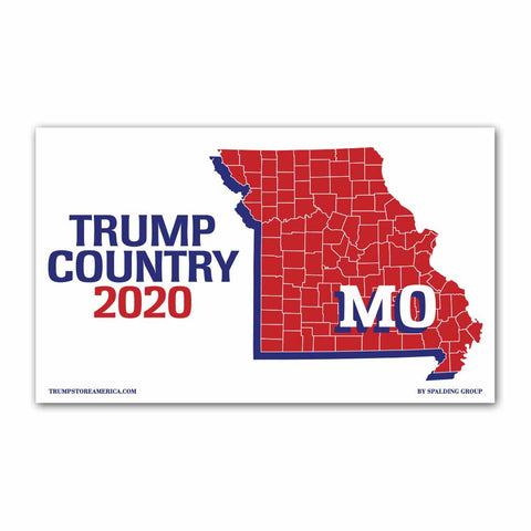 Missouri is Trump Country 2020 - Vinyl 5' x 3' Banner
