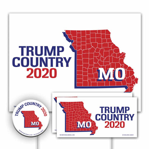 Missouri is Trump Country Yard Sign Kit