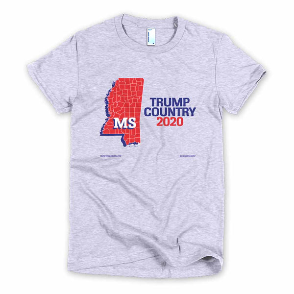 Mississippi is Trump Country Women's Slim Fit T-shirt