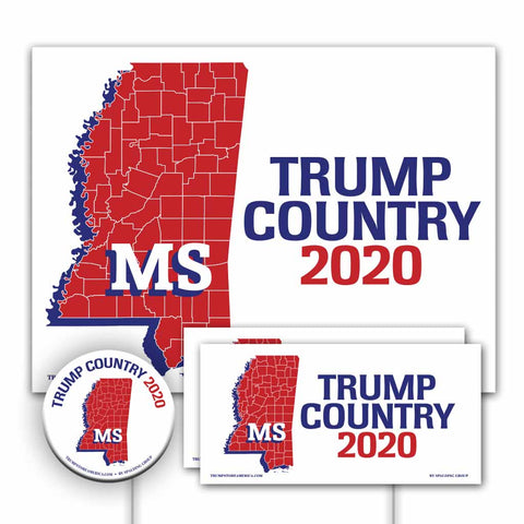 Mississippi is Trump Country Yard Sign Kit