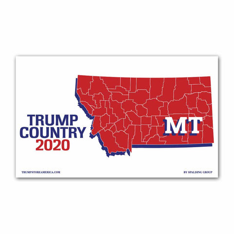 Montana is Trump Country 2020 - Vinyl 5' x 3' Banner