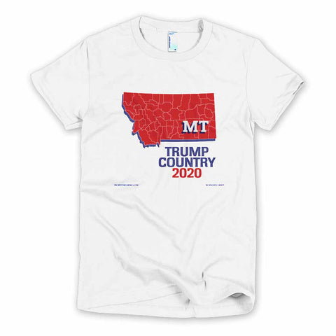 Montana is Trump Country Women's Slim Fit T-shirt