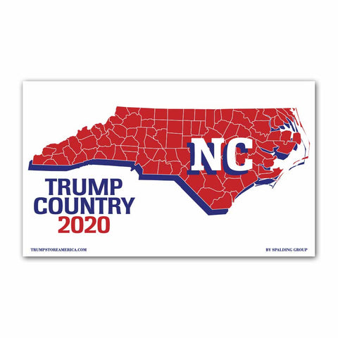 North Carolina is Trump Country 2020 - Vinyl 5' x 3' Banner