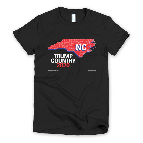 North Carolina is Trump Country Women's Slim Fit T-shirt