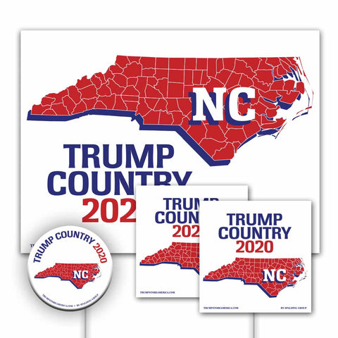 North Carolina is Trump Country Yard Sign Kit