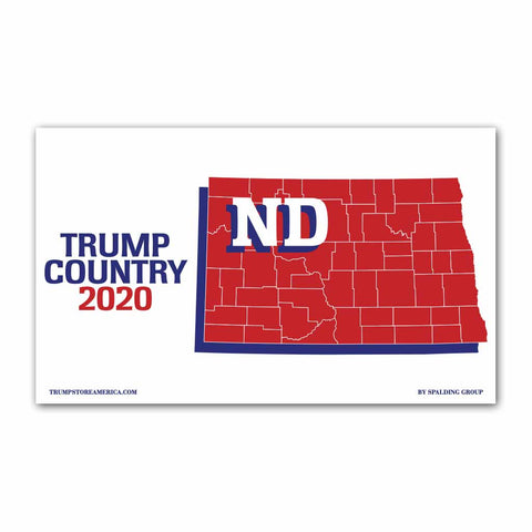 North Dakota is Trump Country 2020 - Vinyl 5' x 3' Banner