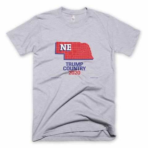 Nebraska is Trump Country T-shirt