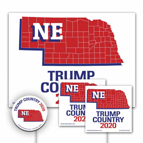 Nebraska is Trump Country Yard Sign Kit
