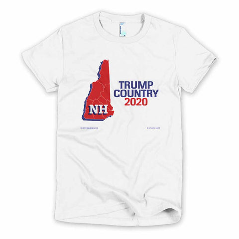 New Hampshire is Trump Country Women's Slim Fit T-shirt