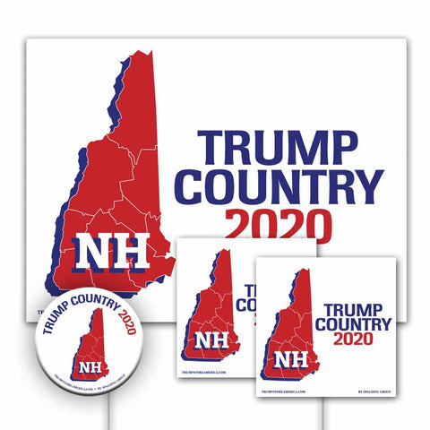 New Hampshire is Trump Country Yard Sign Kit