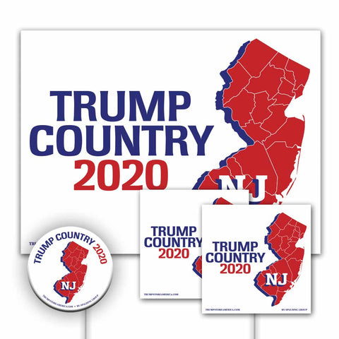 New Jersey is Trump Country Yard Sign Kit