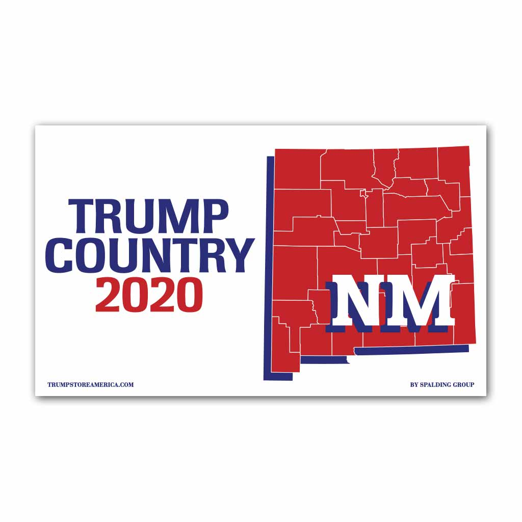New Mexico is Trump Country 2020 - Vinyl 5' x 3' Banner