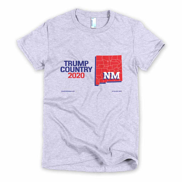 New Mexico is Trump Country Women's Slim Fit T-shirt