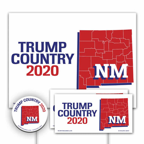 New Mexico is Trump Country Yard Sign Kit