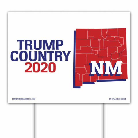 New Mexico is Trump Country 2020 – Yard/Rally Sign