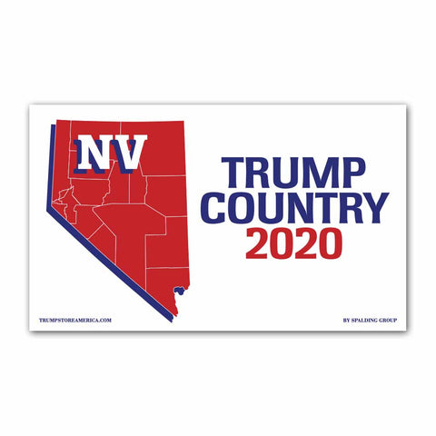 Nevada is Trump Country 2020 - Vinyl 5' x 3' Banner