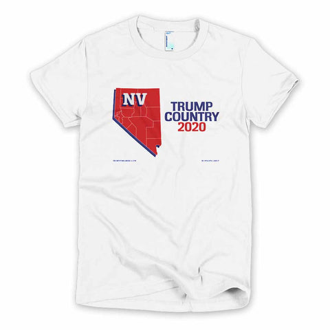 Nevada is Trump Country Women's Slim Fit T-shirt