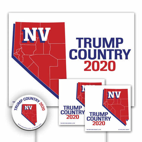 Nevada is Trump Country Yard Sign Kit