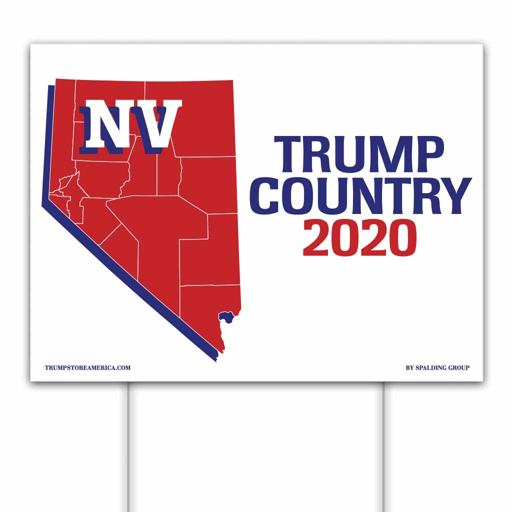 Nevada is Trump Country 2020 – Yard/Rally Sign