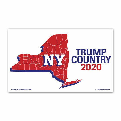 New York is Trump Country 2020 - Vinyl 5' x 3' Banner