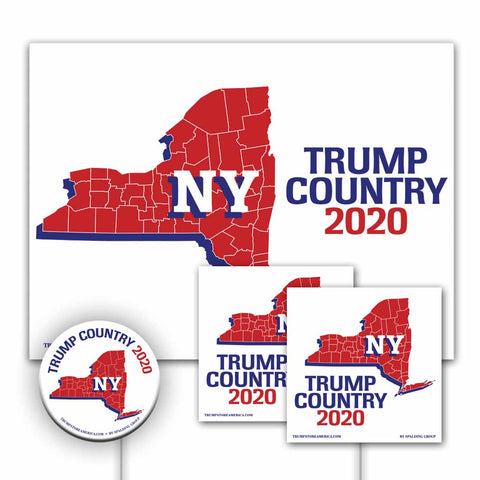 New York is Trump Country Yard Sign Kit